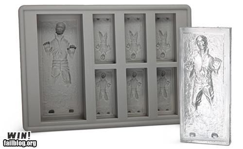 Carbonite Ice Cubes