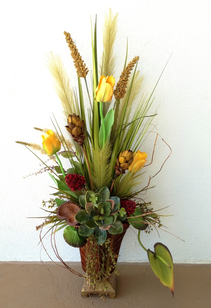 15 Best Images About Tall Floral Arrangements On Pinterest