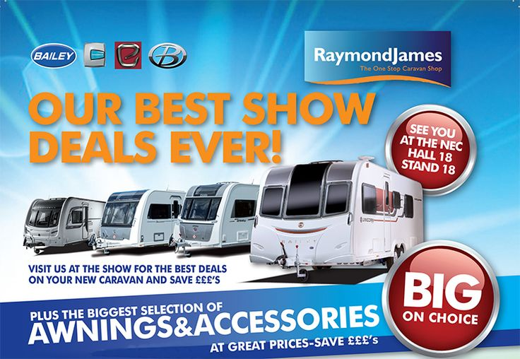 Get a 2,3,4,5 and 6 berth used caravans for sale at cheap rates and make your trip mess free and fun. Raymond James caravan is one amazing company for caravan. High quality caravan accessories from Raymond James could be bought at affordable rate for magical travelling experience.