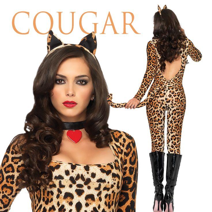 Unleash your inner #beast this #Halloween!  #Cougar #CougarCostume #SexyCostume #Costumes #Props #Decorations #CountdownToHalloween #HalloweenSuperstore #StateFairSuperstore #Belleville #NewJersey #WorldsLargestHalloweenSuperstore #HalloweenLikeYouveNeverSeen