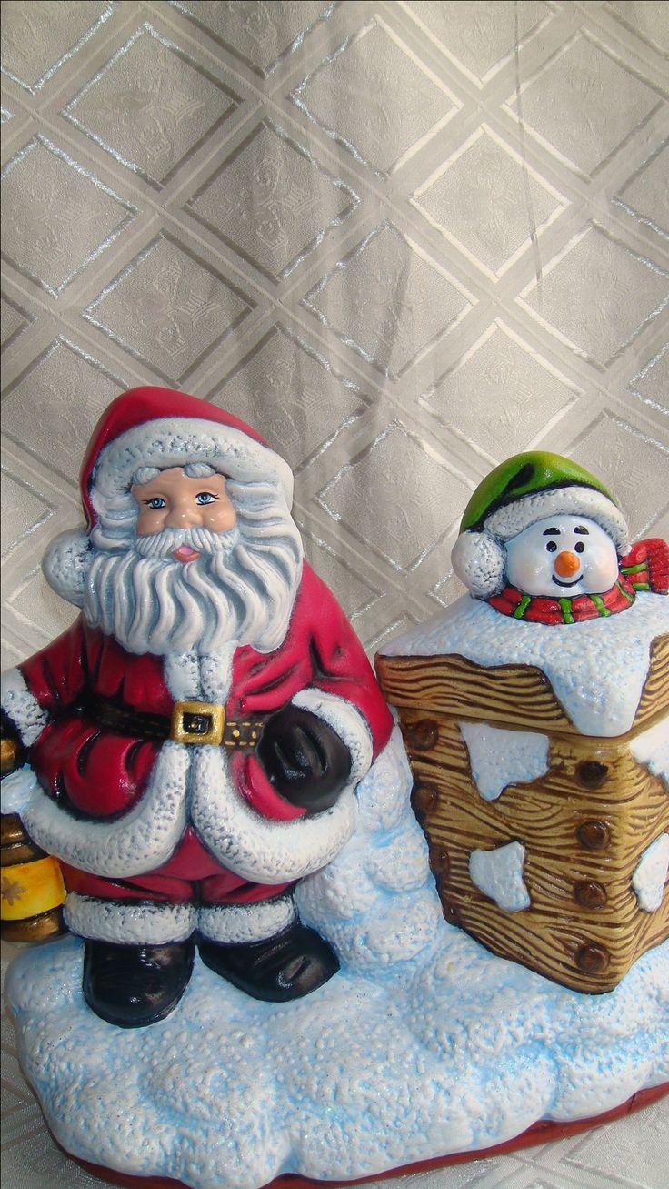 Caramelera de Noel Para caramelos o chocolates. Adorno