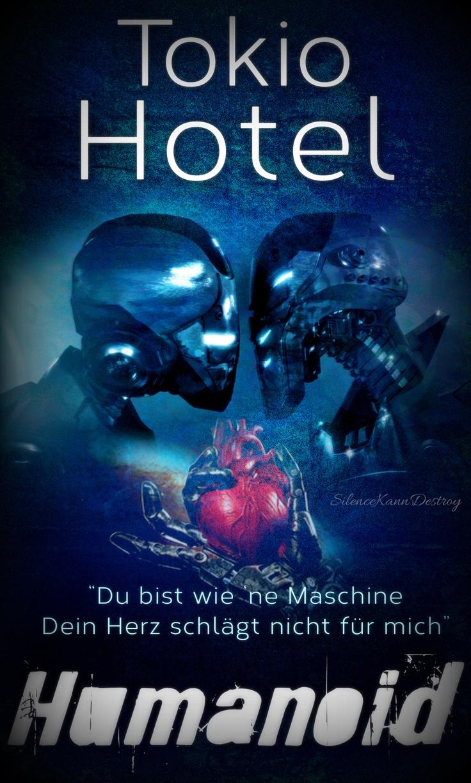 Tokio Hotel Humanoid Album Book Cover Inspiration SilenceKannDestroy