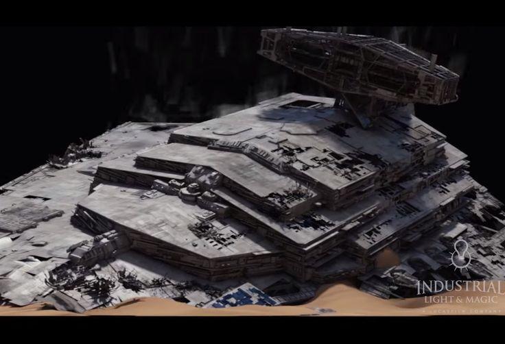 Tak tworzono efekty specjalne w nowych Gwiezdnych Wojnach