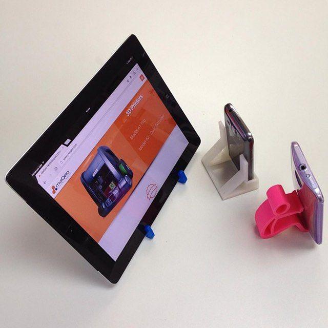 Something we liked from Instagram! Esses suportes para celular e tablet foram feitos com as impressoras 3D da MaQeo Technologies. Faça você mesmo seus próprios acessórios!  #3DPrinter #3DPrinting #Impressora3D #Impresora3D #Prototipo #Prototype #Technology #Tecnologia #Celular #Tablet #Design #MaQeoTechnologies by maqeotech check us out: http://bit.ly/1KyLetq