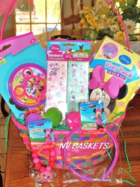 8 best custom avon easter baskets images on pinterest easter minnie mouse easter negle Image collections
