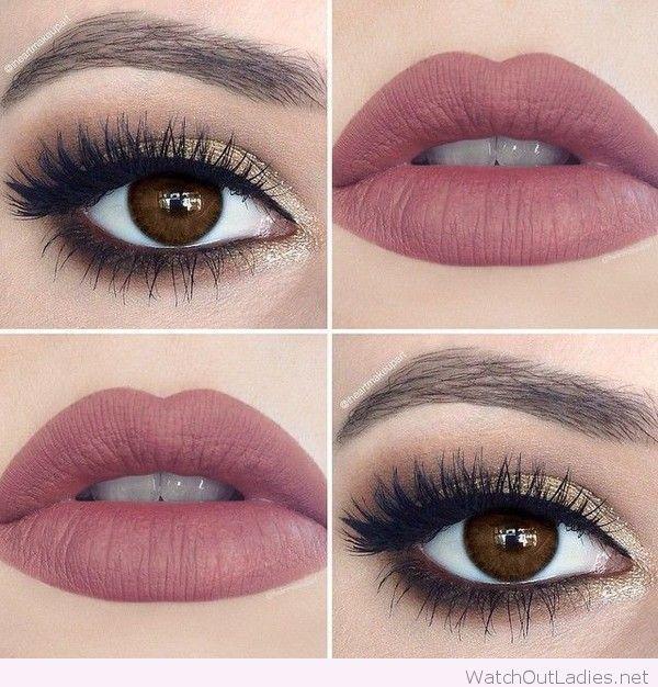 Wonderful weekend makeup idea