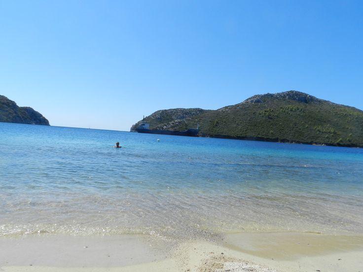 Greece, Sithonia, Poro Koufo beach