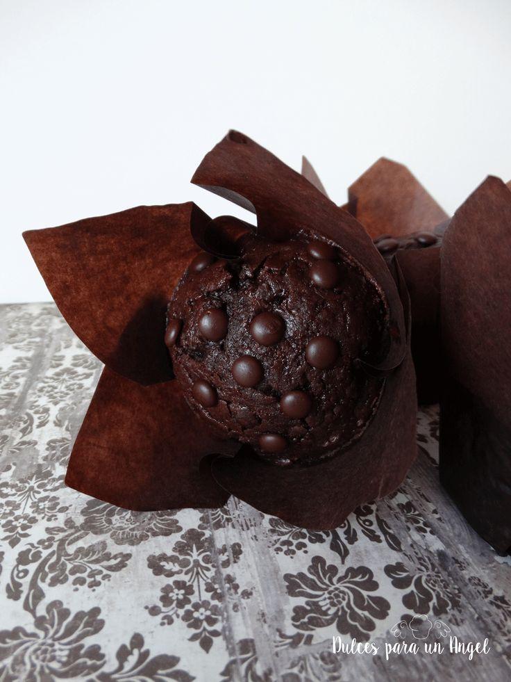 Dulces para un Angel: Muffins superchocolatosos