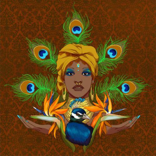 **..Oshun..** West African goddess/orisha of sweet waters, beauty, love, artistry, and prosperity.