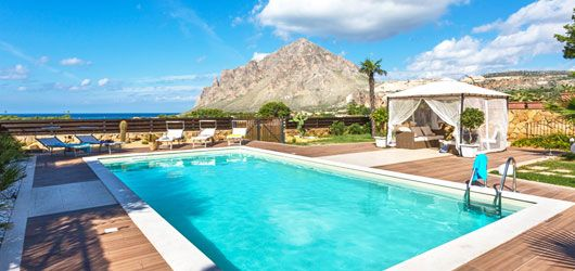 Itaca, our beautiful villa with gorgeous view in #west #Sicily