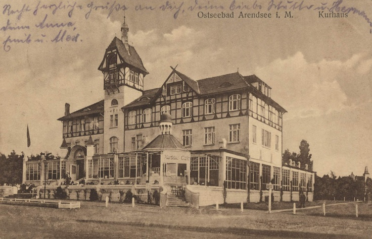 One of the old spa hotels in the seaside resort of Kühlungsborn. It was built in 1905 and the main landmark of the town.