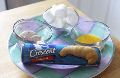 resurrection rolls (you can eat these!)  Wish I had known about these when my sons were little!