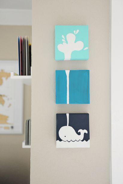 Whale nursery crafts : Whale nursery artbaby loop, whales nurseries art, baby baron, aubree ...
