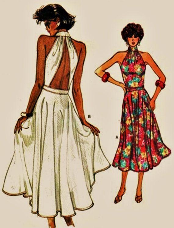 22 best 80s dress patterns images on Pinterest | Dress patterns, 80s ...