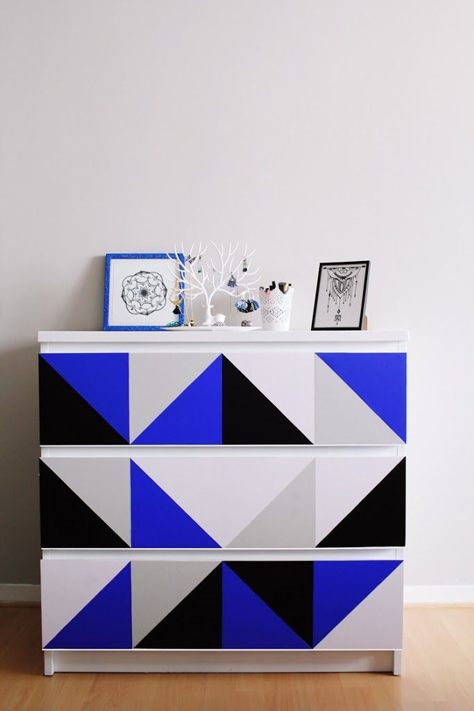 Irresistibird - Ikea hack – Relooking d'une commode Malm