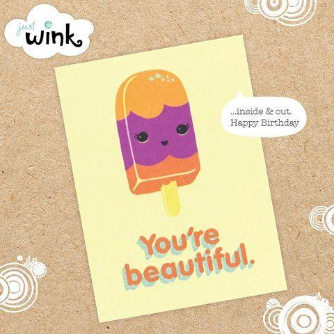 #justwink #johnsands #greetingcard
