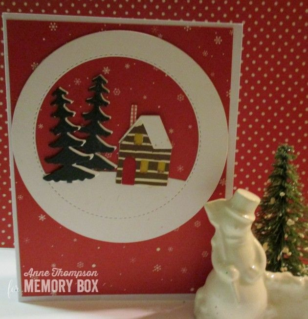 Memory Box Merry Christmas Die