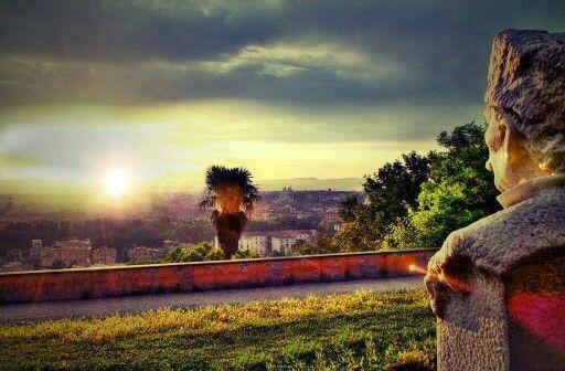 #sunrise At #gianicolo
