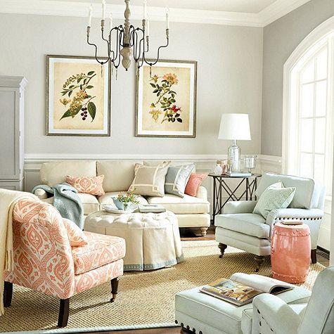 A harmonia das cores predominam a decoração! #sala