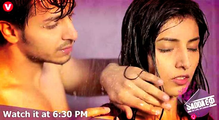 Randhir and Sanyukta get STEAMY in Channel V's Sadda Haq : Tv Talks