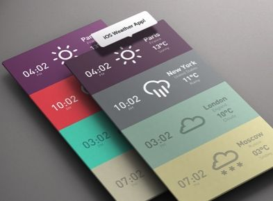 #Flat #Mobile #UI Design