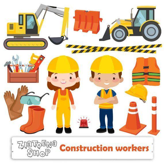 Construction clip art Construction vehicle clipart Tractor ...