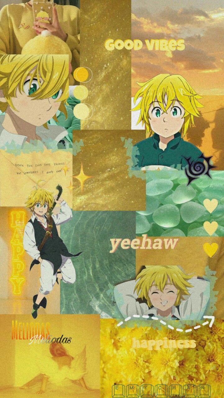 yellow aesthetic anime wallpaper iphone
