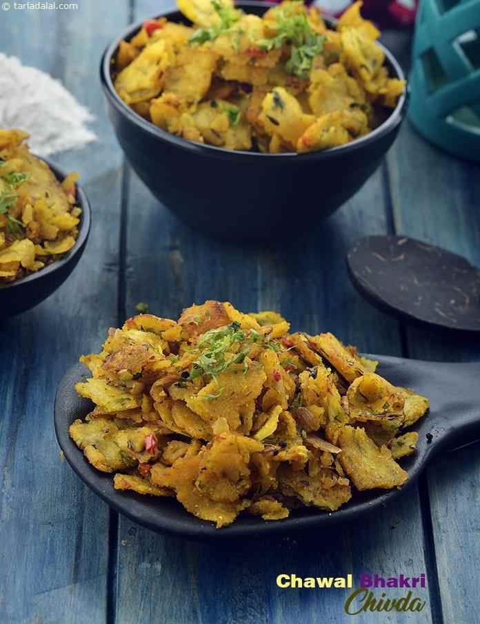Calories For Chawal Bhakri Chivda Isrice Flour Bhakri