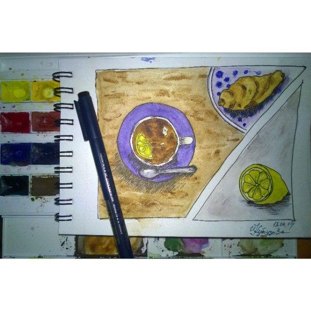 sketch. watercolor. sketch food.