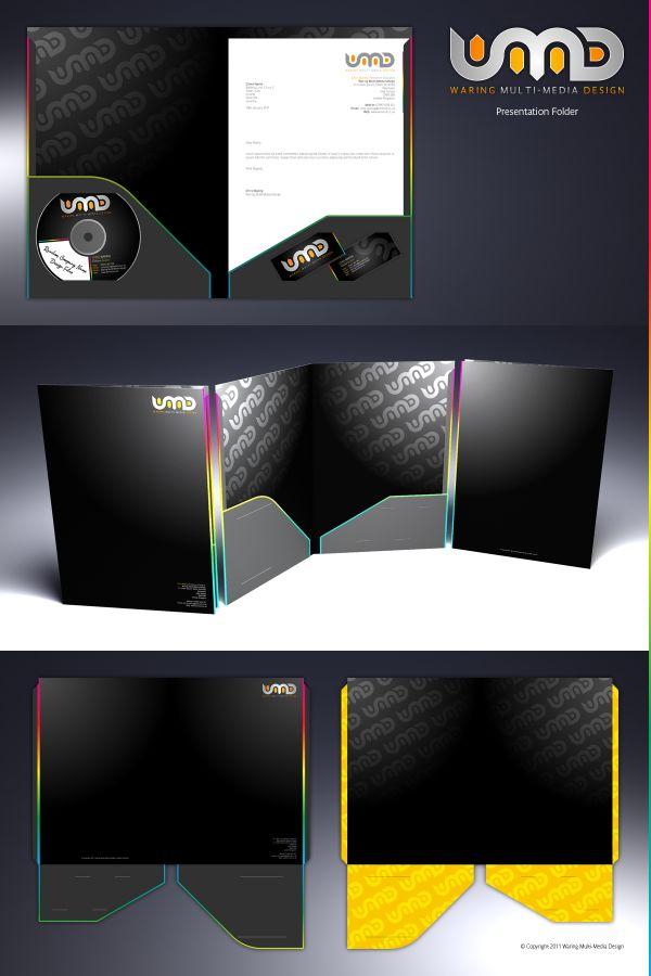 27 best Presentation folders images on Pinterest Presentation - resume presentation folder