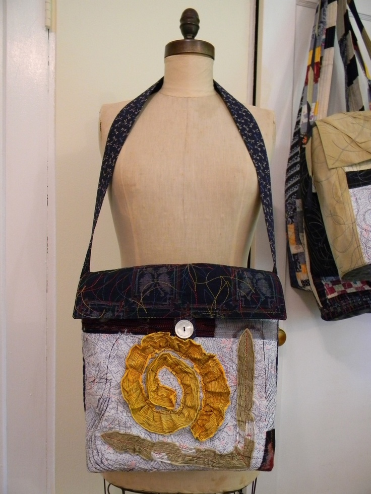 Beautiful stitched bag by Danny Mansmith