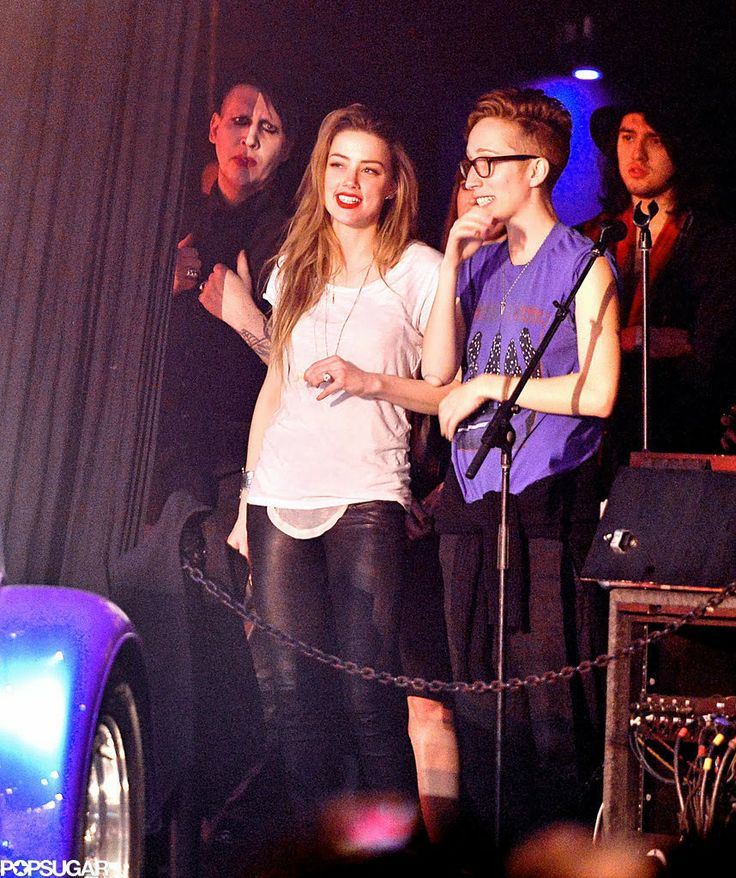 Celeb Diary: Amber Heard attendeding one of Johnny Depp's shows in Anaheim