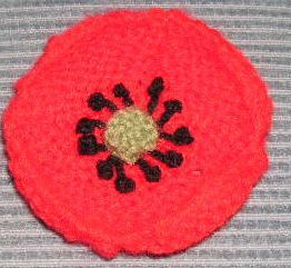 Knitting Pattern For Poppy Flowers : The 73 best images about DIY Poppies to Craft, Knit, Crochet, Stitch on Pinte...