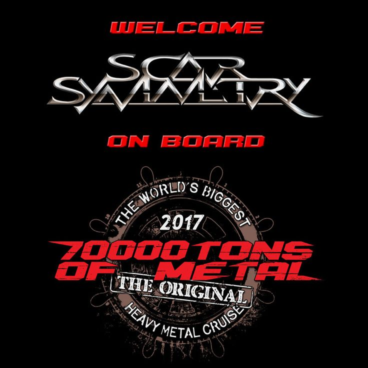 Make your way to picturesque Labadee, our Caribbean dream destination, as you catch SCAR SYMMETRY on board 70000TONS OF METAL, The Original, The World's Biggest Heavy Metal Cruise! And you know what? As every other band on board, you will catch them again on the way back to Florida. #70000tons #metalcruise