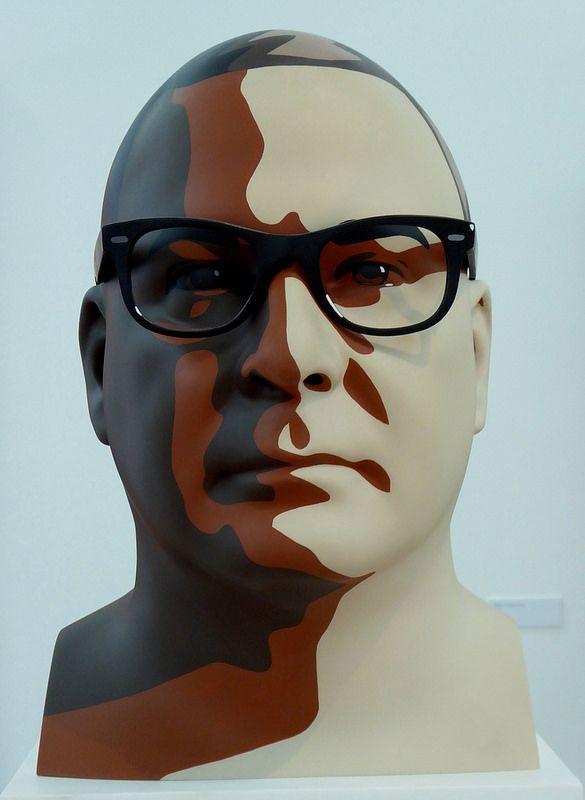 Julian Opie Exhibition: Reed I (2012)