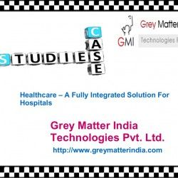A web based health care system that could manage the patient data entirely starting from patient admission to patient discharge. Hospital Information Management System, LIS, RIS, PACS, EMR, EHR, paperless hospital, filmless hospital, Pharmacy, etc. The system also allows to Implement Blood Bank Management Through Healthcare Management.SEE More At: http://www.greymatterindia.com/healthcare-fully-integrated-solution-for-hospitals