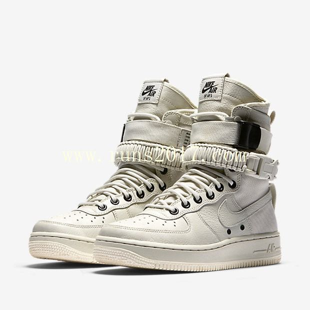 Nike Special Forces Air Force 1 Boots White
