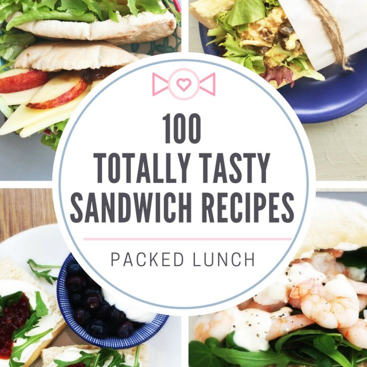 Sandwich recipes - the ULTIMATE list of 100 sandwich fillers so that lunch will never be boring again! Can you eat your way through this? #sandwichrecipes #sandwichideas #sandwichfillers #lunchboxrecipes #packedlunchideas