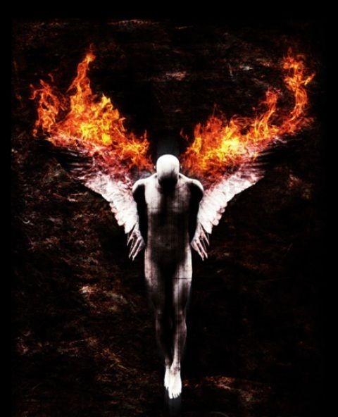 angels... fallen angels... burning in atonement