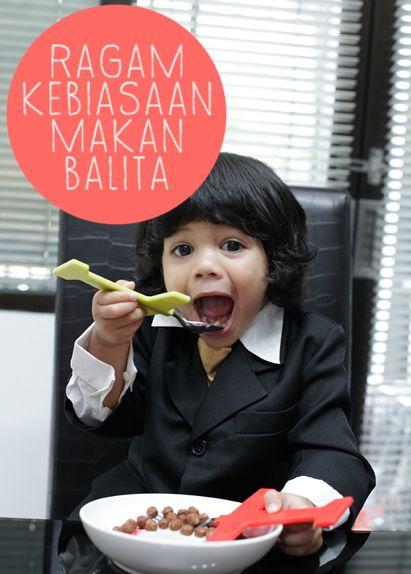 Ragam Kebiasaan Makan Balita :: Happy eating :: How children face their food :: Children and Food