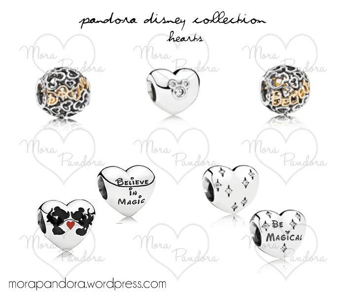Pandora Disney collection 2014 hearts mark