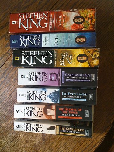 The Dark Tower Series.  Proud to say I finished reading this entire series.  Glad Stephen King finally did finish it after so many years in the writing.
