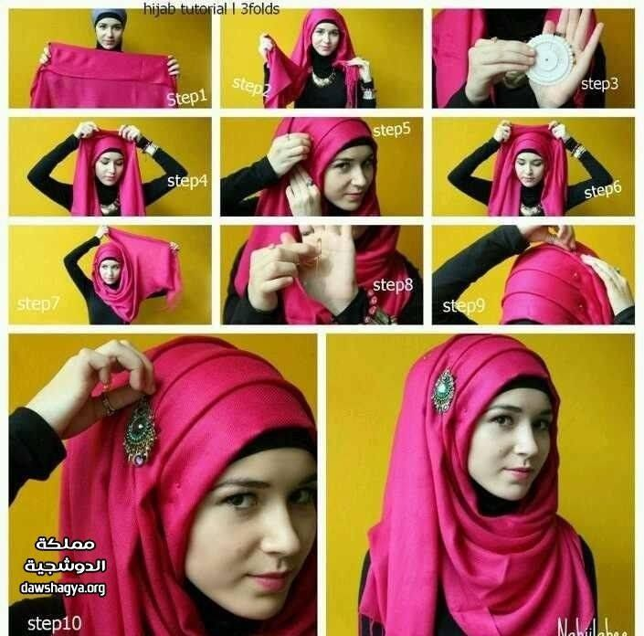 how to hijab tutorial