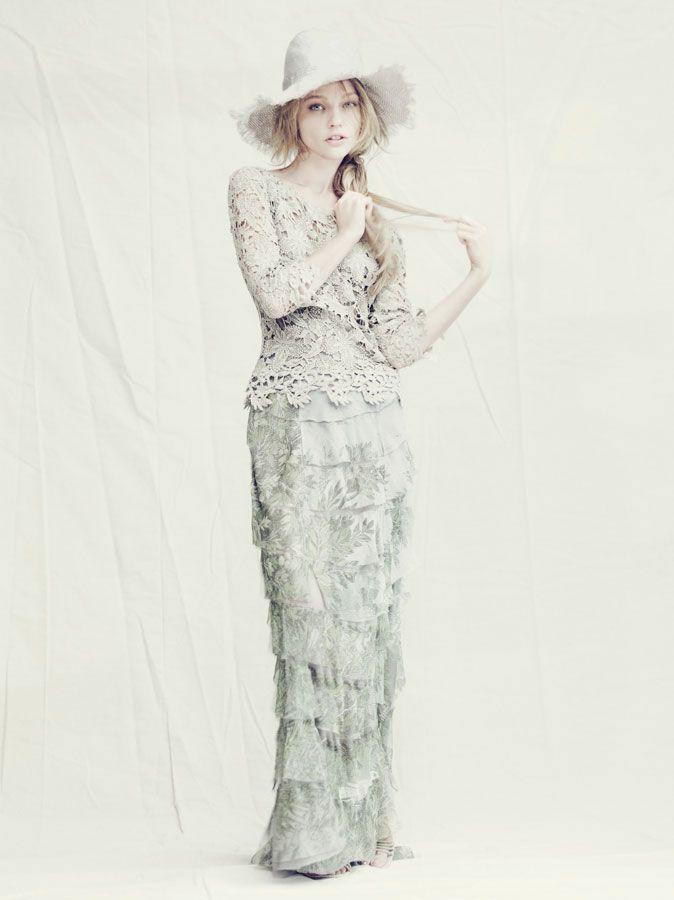 Alberta Ferretti | Sasha Pivovarova | Paolo Roversi | Alberta Ferretti Spring 2011 Campaign ~ via Fashion Gone Rogue