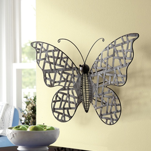 Butterflies Are Free Hang This All Metal Dark Brown Butterfly In Your Home Or Garden For An Interesting Conversation Piece