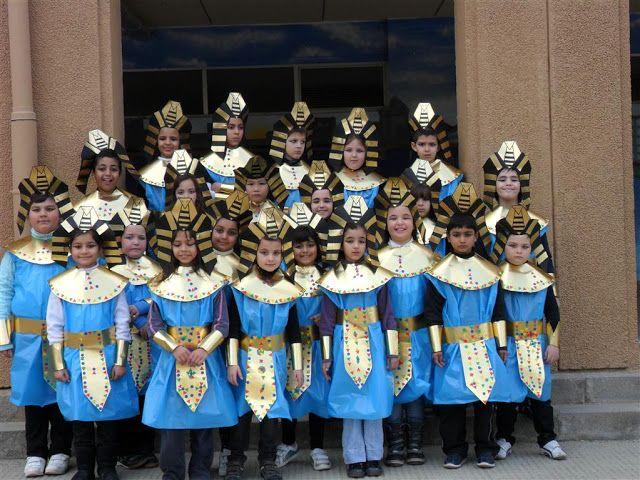 """Carnaval 2012 """" Etapes Història"""" - Escola Llibertat - Egipcis"""