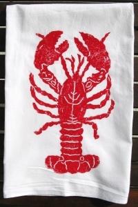 Red Lobster (Lg.) Kitchen Towel S/2