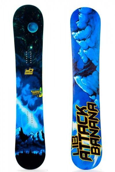 Good Wood 2012: Lib Tech Attack Banana   TransWorld Snowboarding