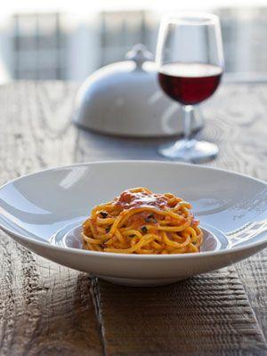 Scarpetta Spaghetti Recipe - Scott Conant Pasta Recipe - Redbook