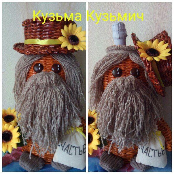 Плетение из газет   ВКонтактi